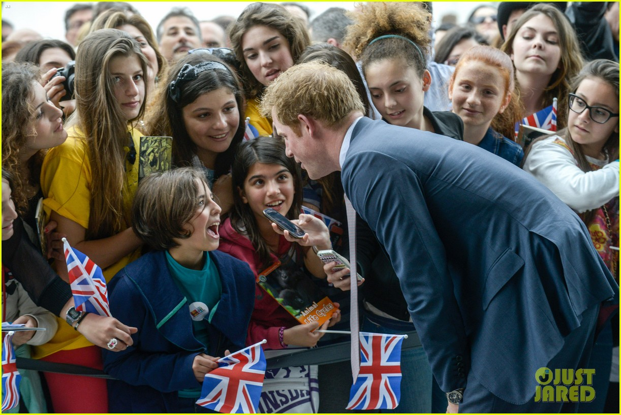 prince harry commemorative event italy 133116588