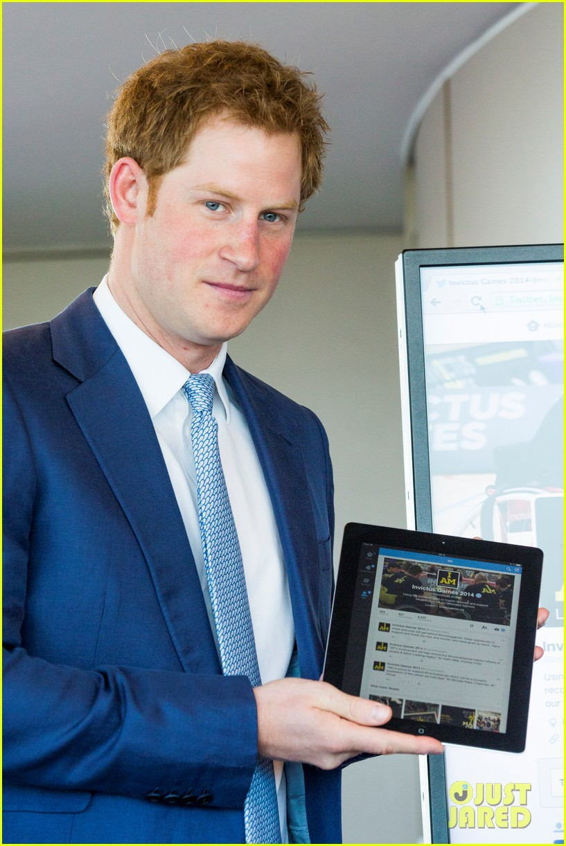 prince harry sends his first tweet ever 063113923