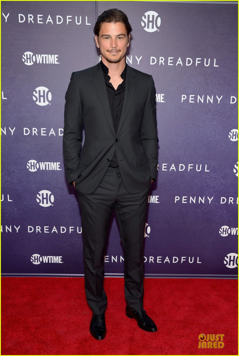 josh hartnett eva green combat penny dreadful premiere 013107148