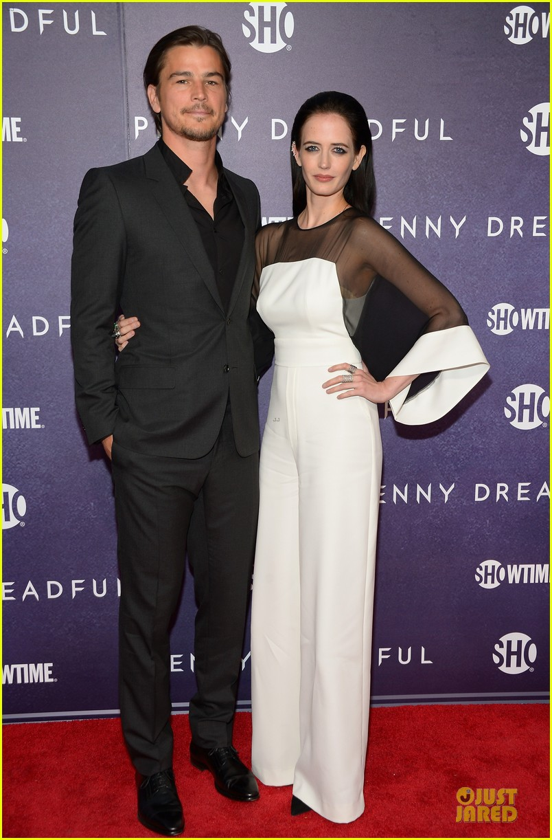 josh hartnett eva green combat penny dreadful premiere 073107154