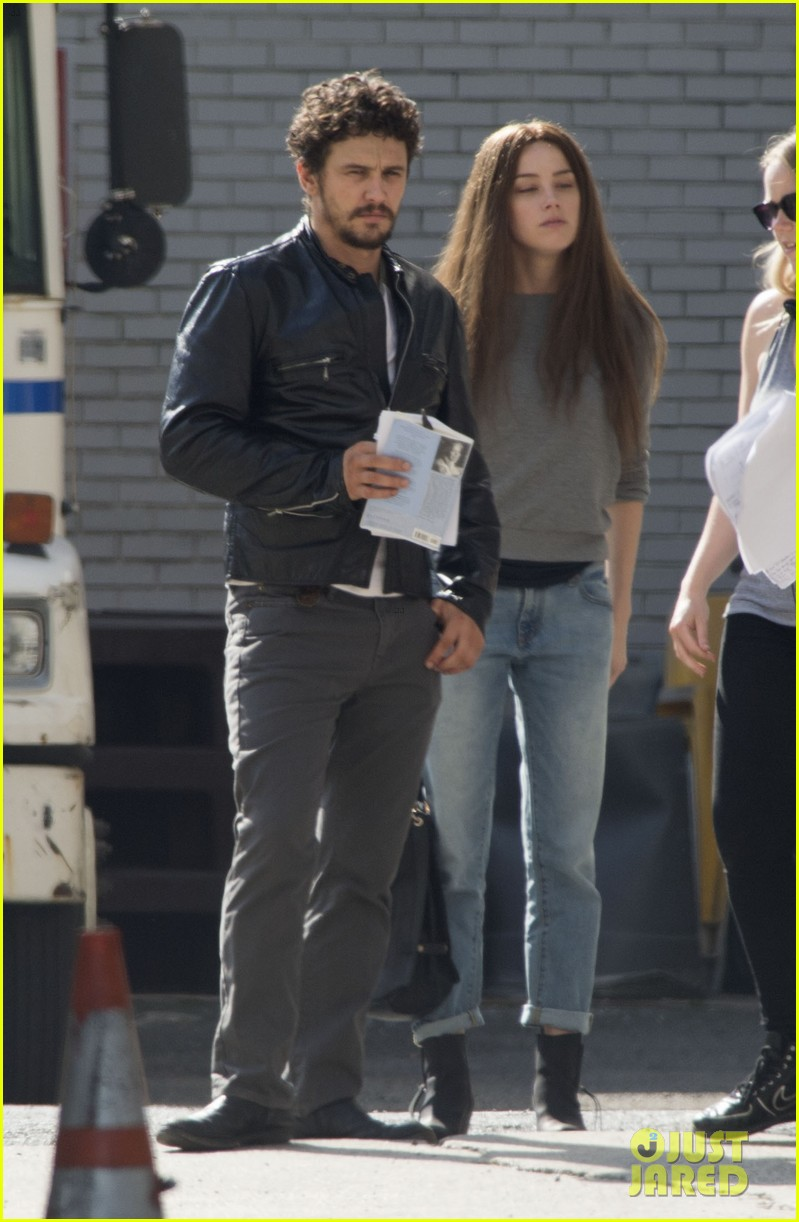 amber heard james franco get to work new york 033124787