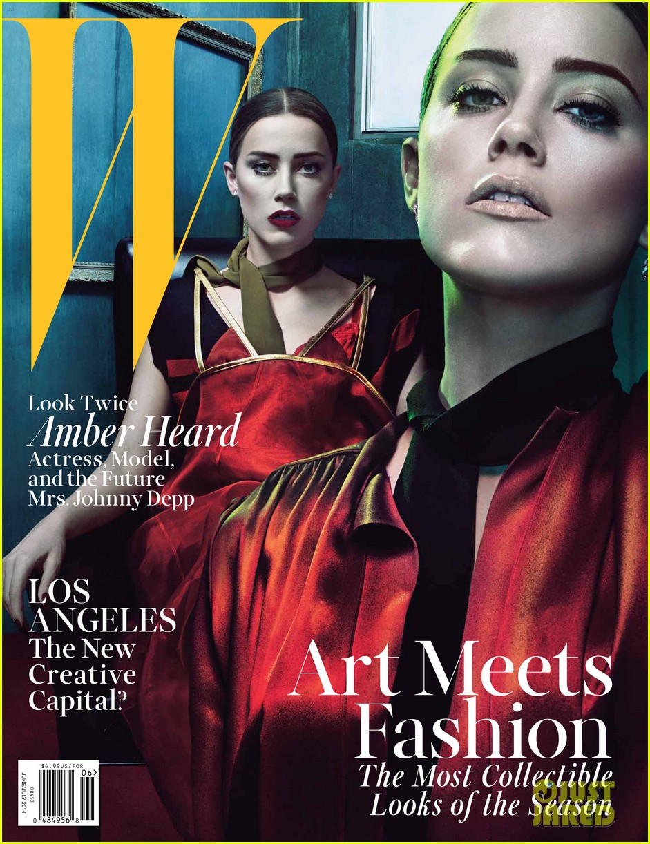 amber heard covers w magazine june 2014 013122699