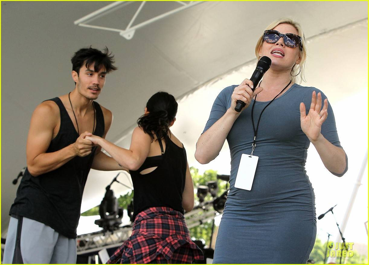 megan hilty blue at memorial day concert rehearsals 083122173