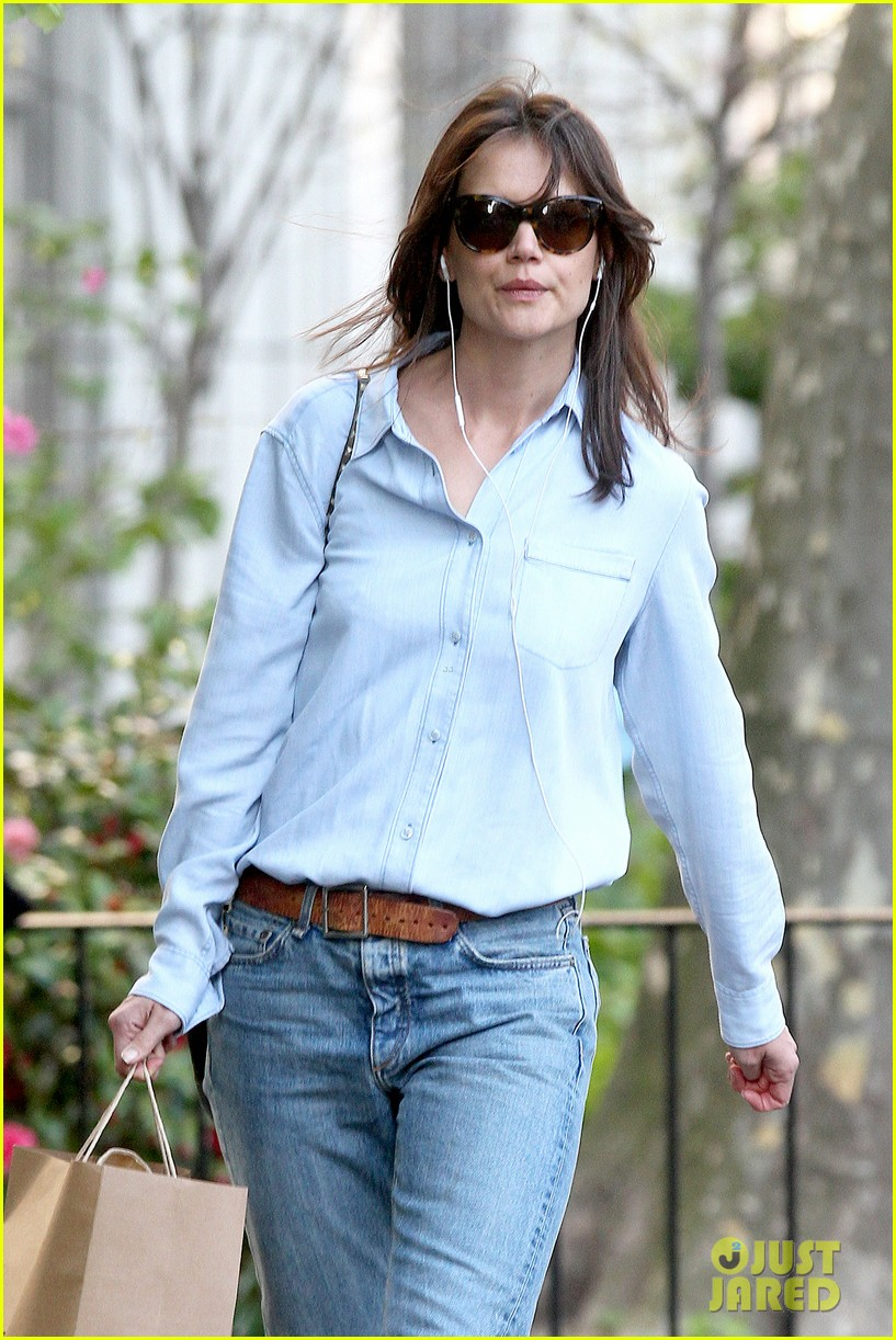 katie holmes inspires in interviews with empowering women for in short 043105316