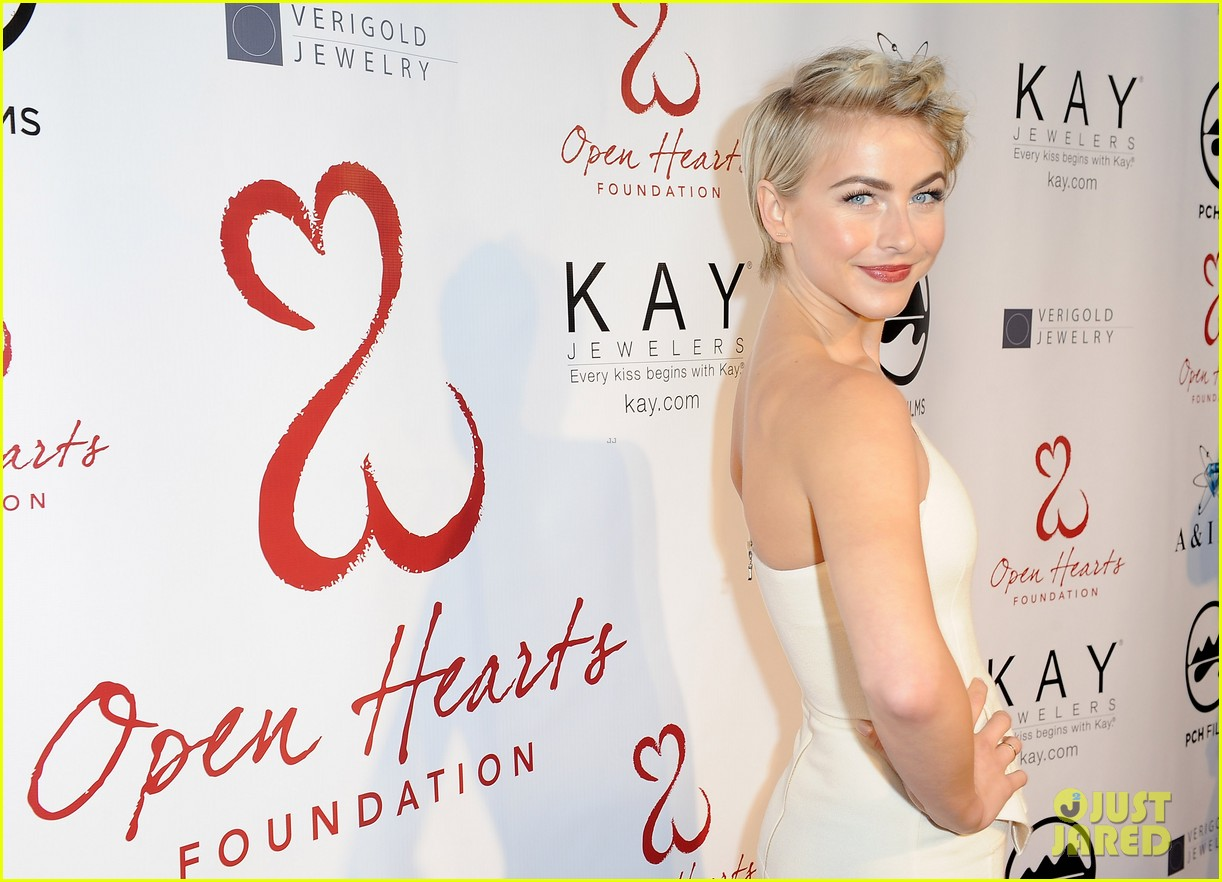 julianne hough brooks laich open hearts gala 083110974