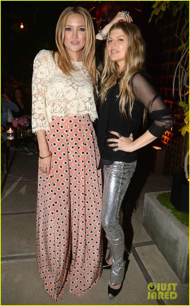 kate hudson fergie buddy up at chrome hearts party 063109395