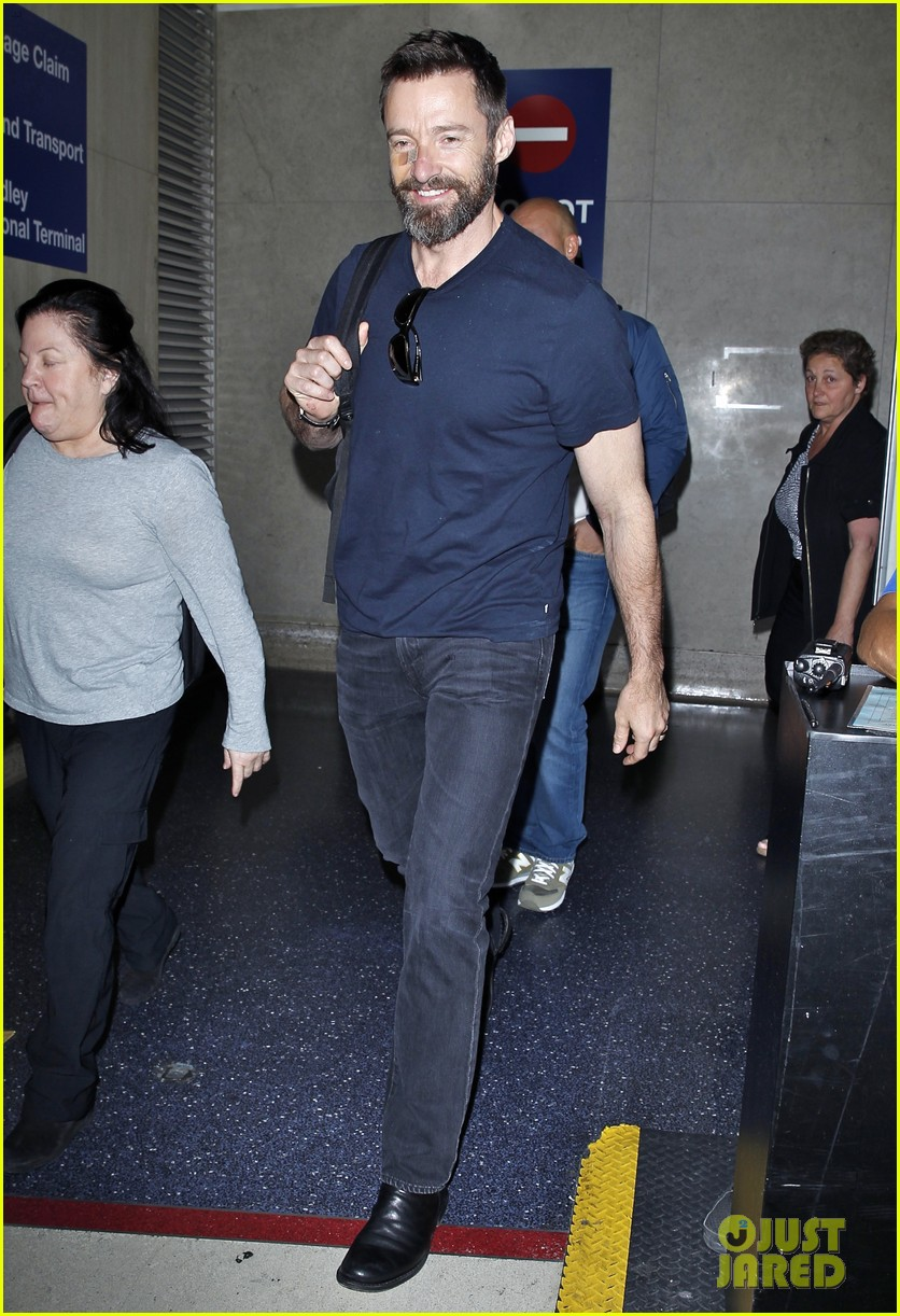 hugh jackman mothers day with deborra lee furness 143111397
