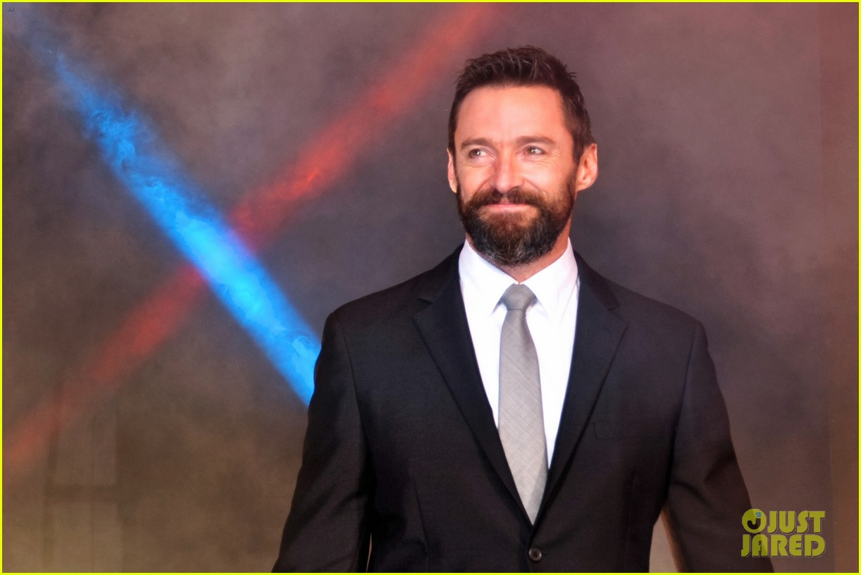 hugh jackman celebrates x men big weekend box office opening 02