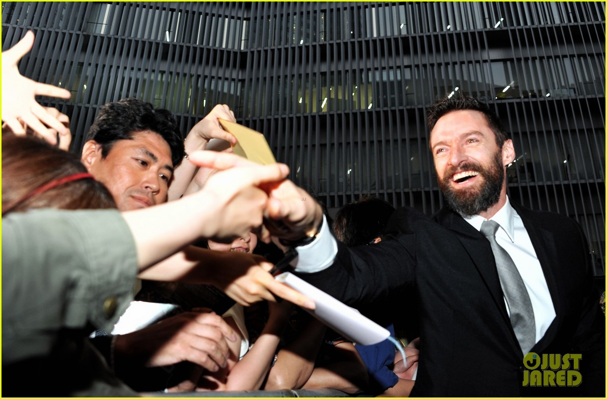 hugh jackman celebrates x men big weekend box office opening 063122616