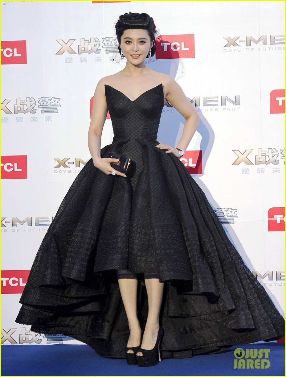hugh jackman premieres x men with fan bingbing peter dinklage in beijing 073113087