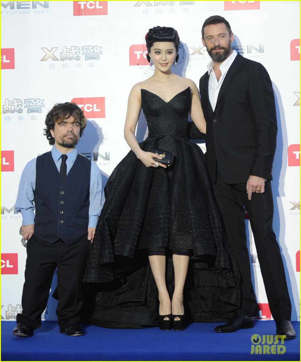 hugh jackman premieres x men with fan bingbing peter dinklage in beijing 123113092