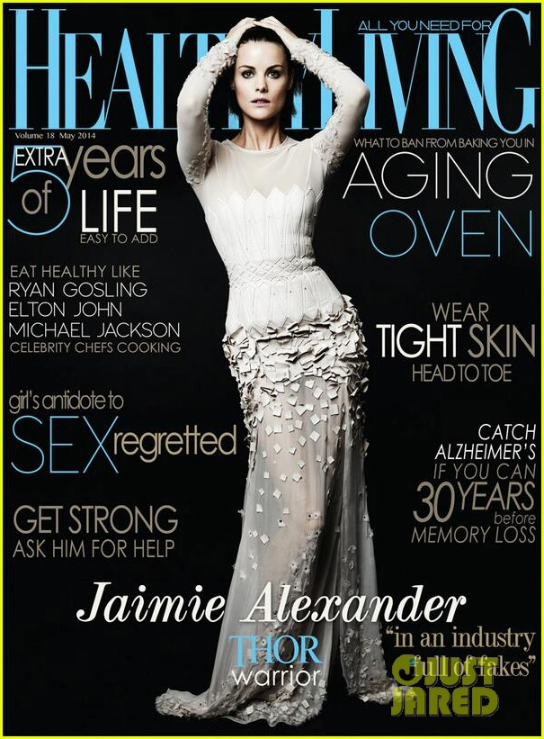 jaimie alexander covers healthy living may 2014 02