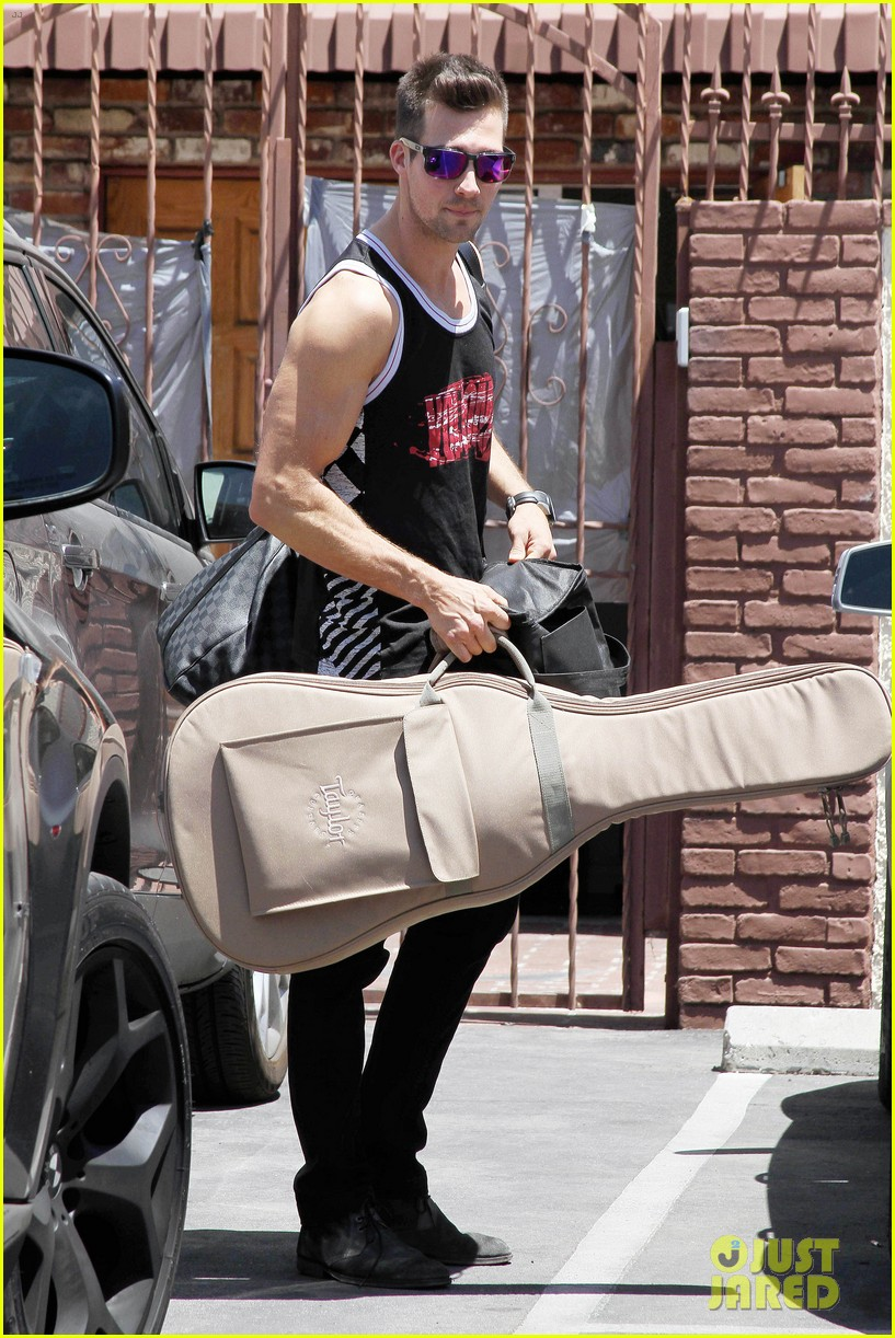 james maslow washboard abs fitness rx cover 113113453