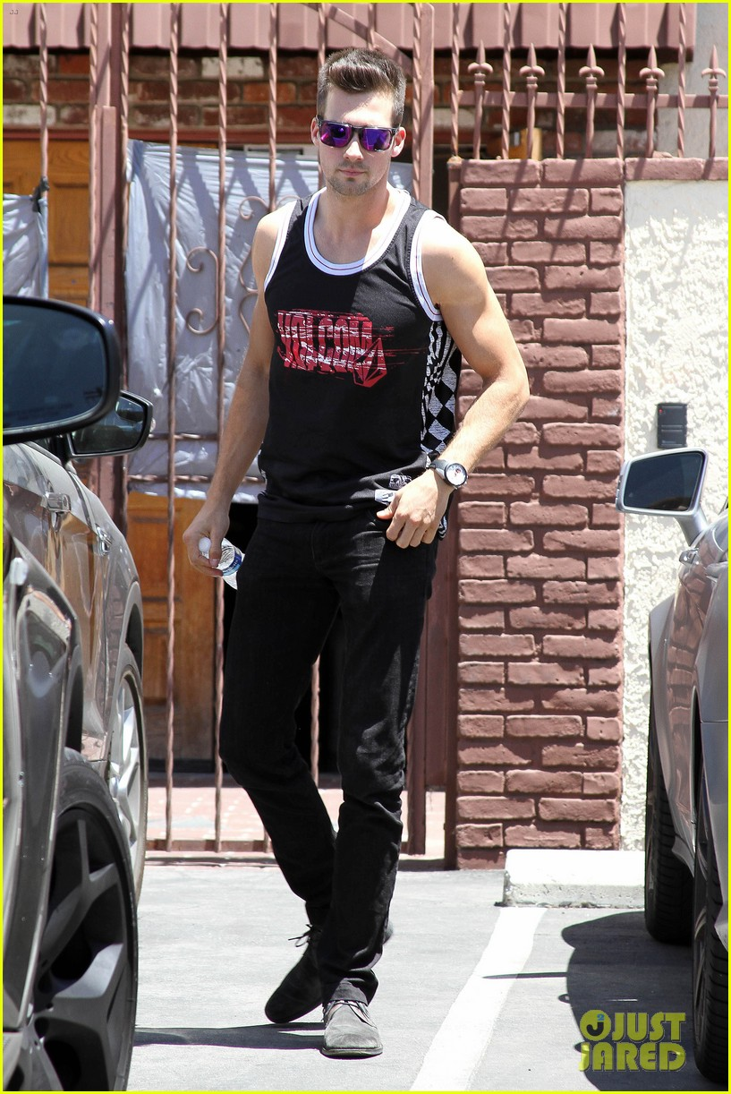james maslow washboard abs fitness rx cover 123113454