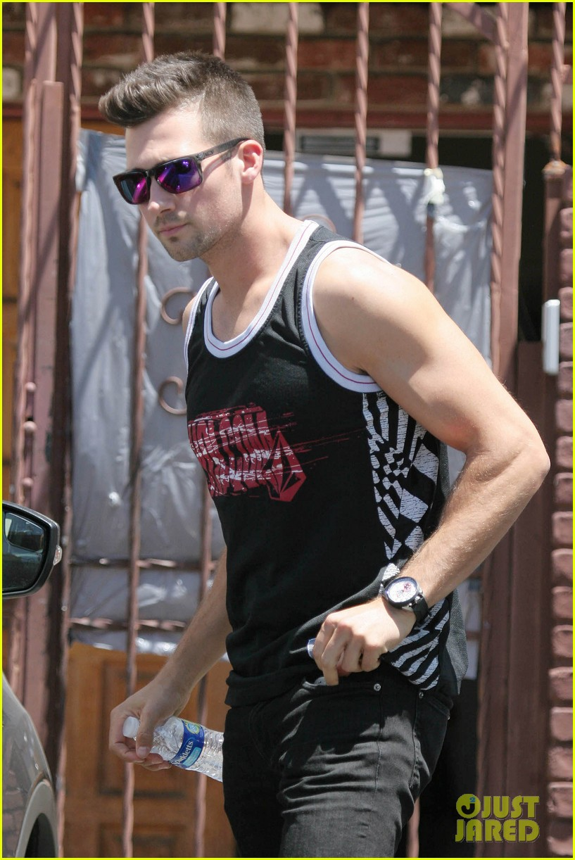 james maslow washboard abs fitness rx cover 133113455