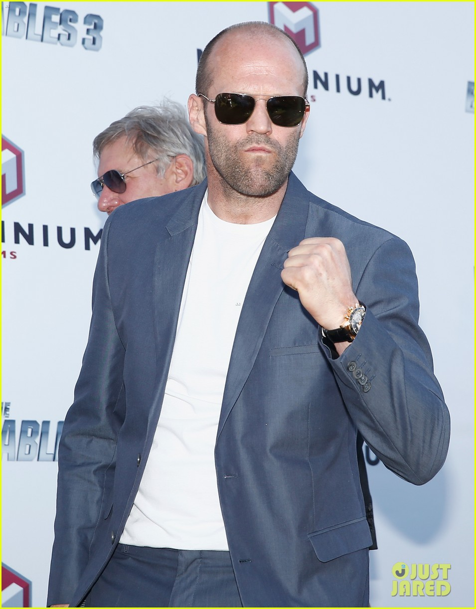 jason statham star studded expendables 3 photo call 183116538
