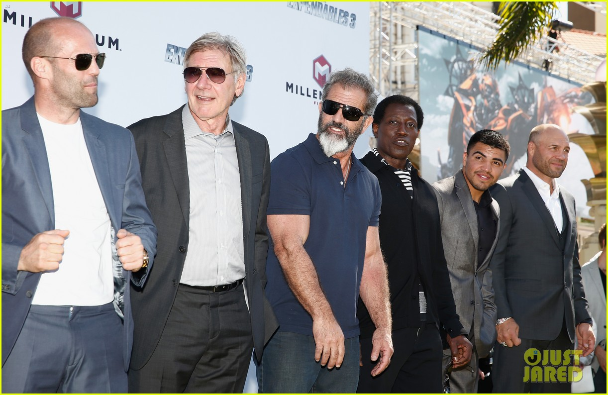 jason statham star studded expendables 3 photo call 213116541