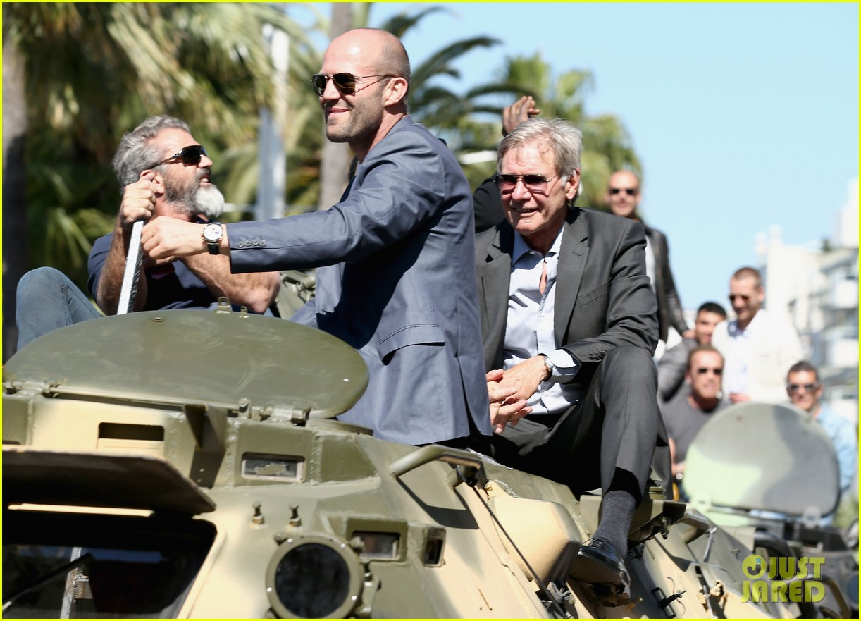 jason statham star studded expendables 3 photo call 233116543