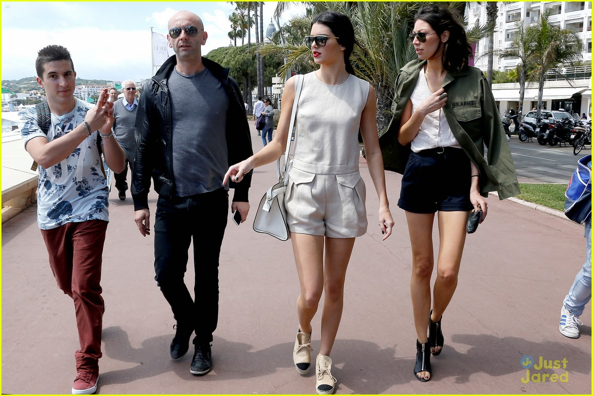 kendall jenner cannes shoot boat 053114511
