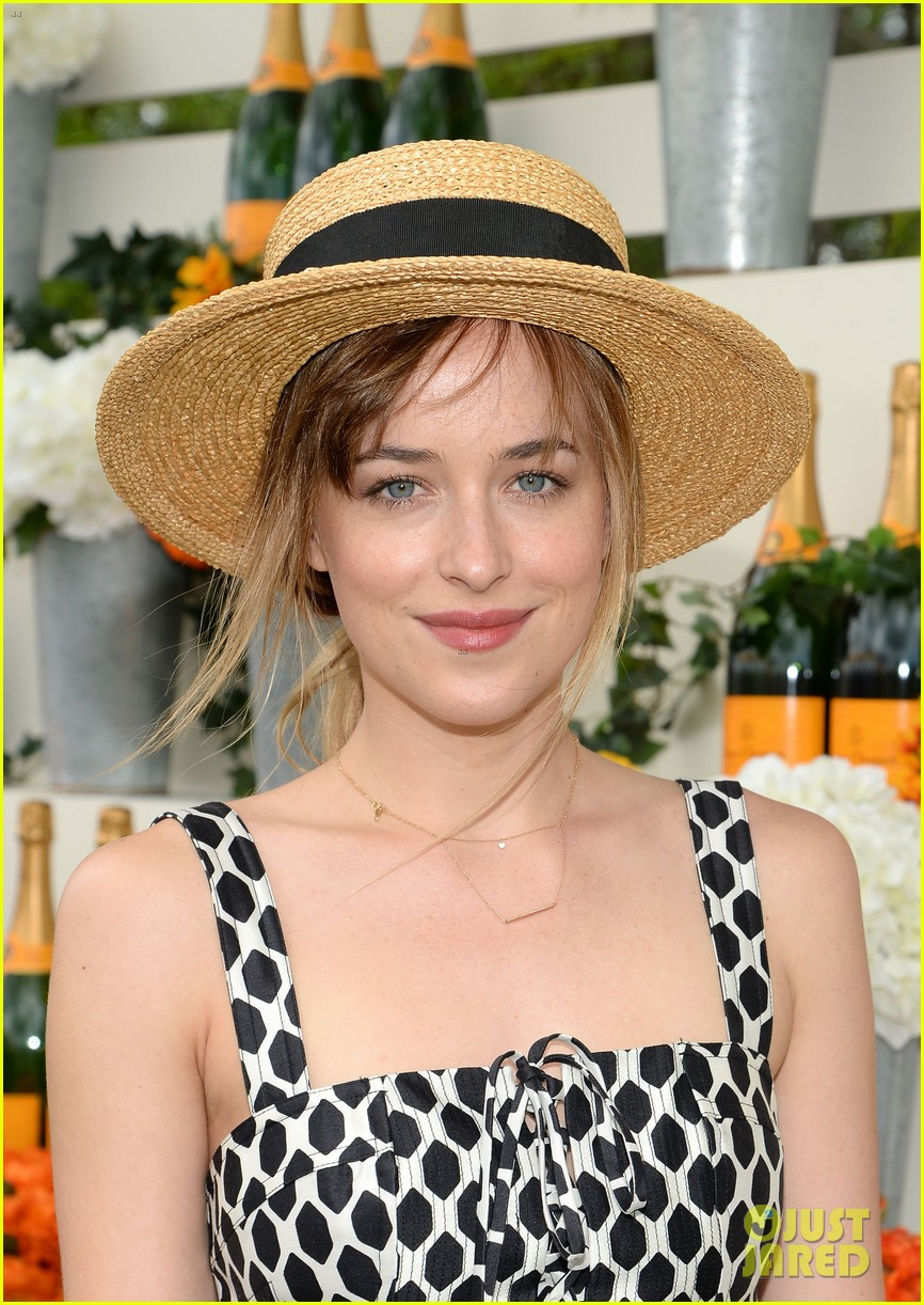 dakota johnson behati prinsloo check out a polo match 123125561
