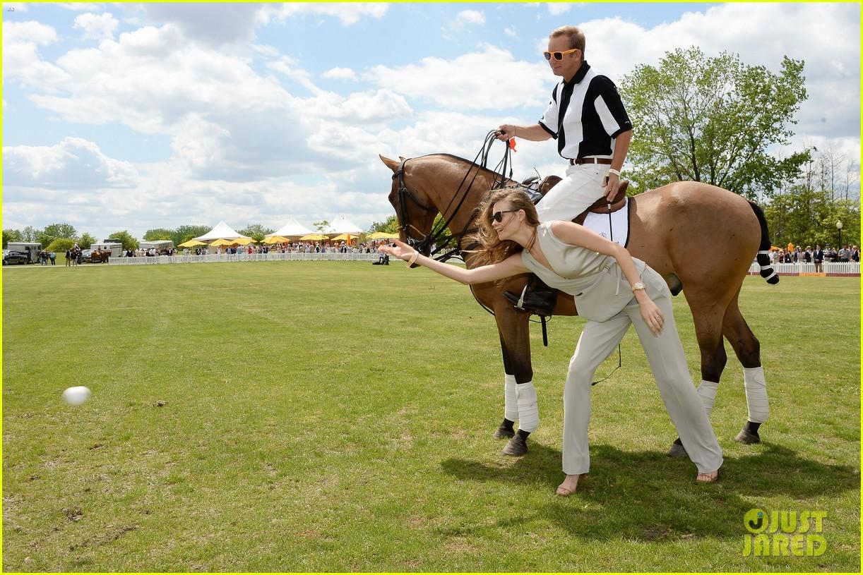 dakota johnson behati prinsloo check out a polo match 203125569