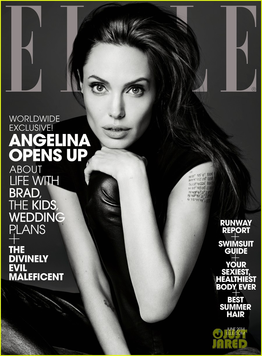 angelina jolie elle june 2014 cover 013107435
