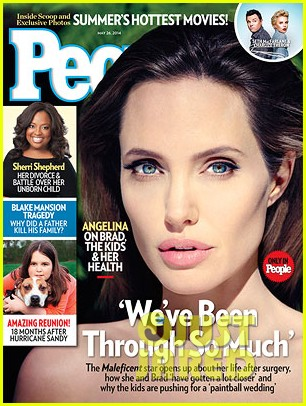 angelina jolie opens up about wedding her health more 013113075