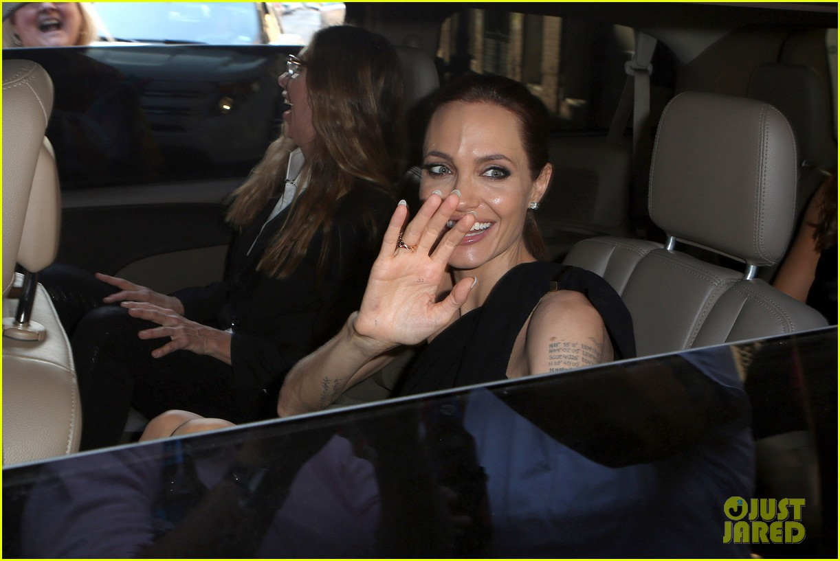 angelina jolie supports brad pitt make it right gala 093116147