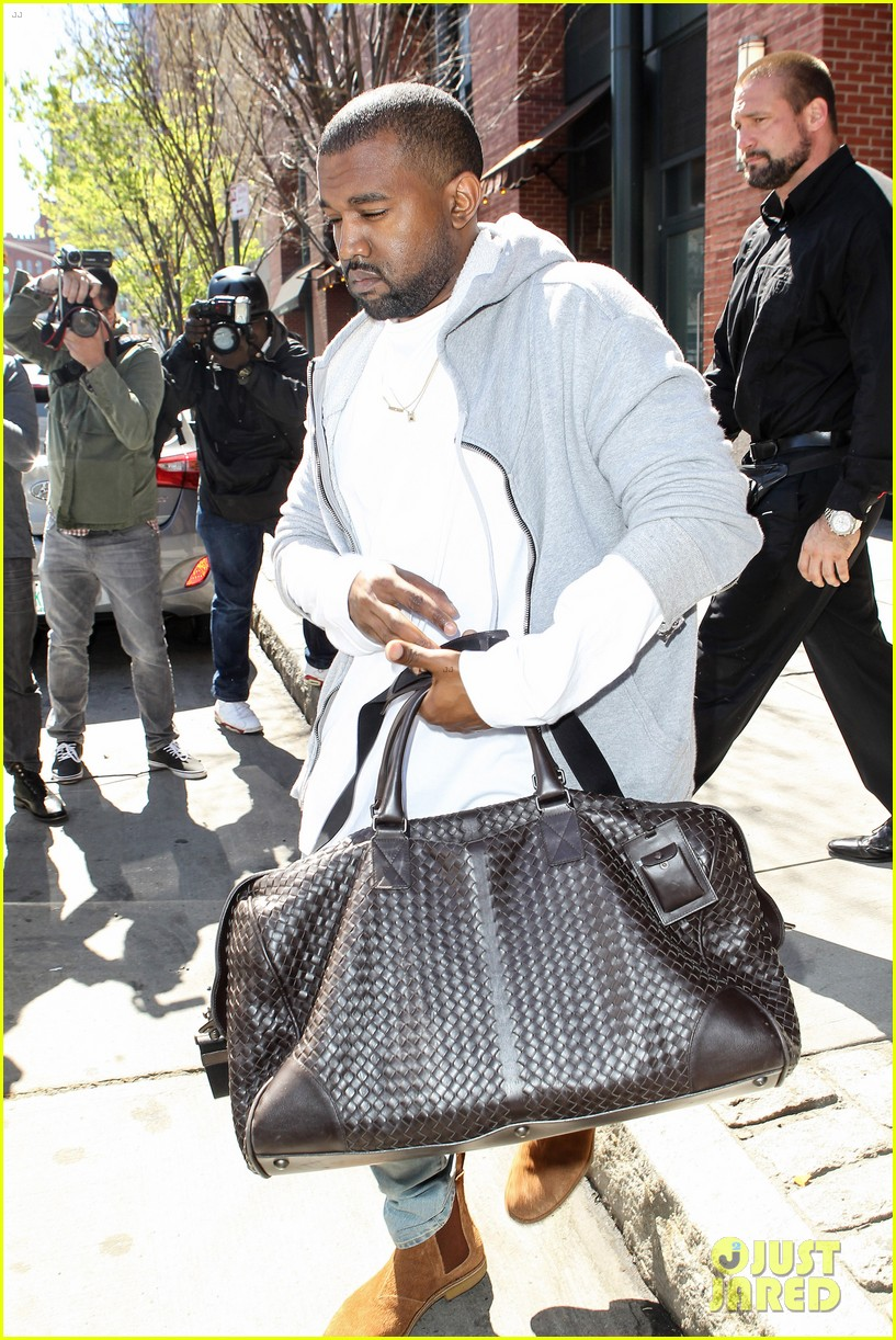 kim kardashian kanye west step out before the met ball 083105708