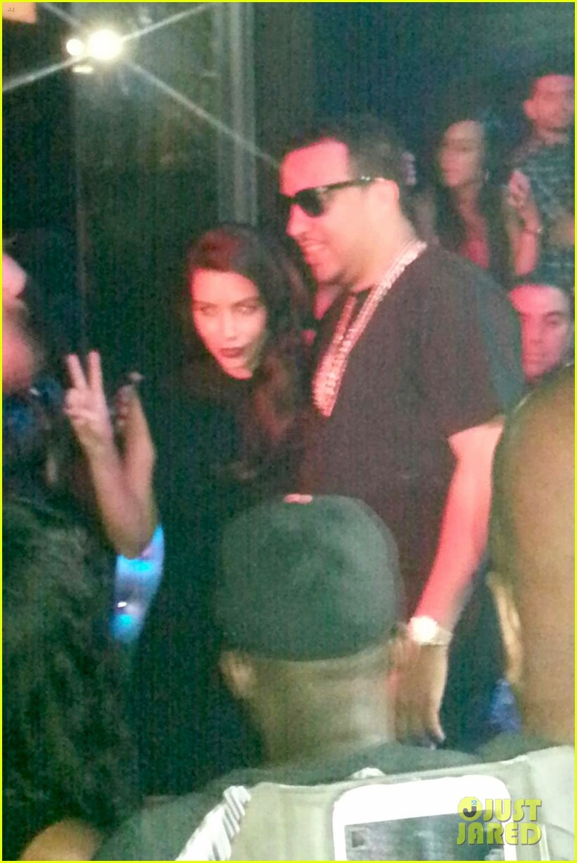 kim kardashian joins khloe to support french montana 023113367