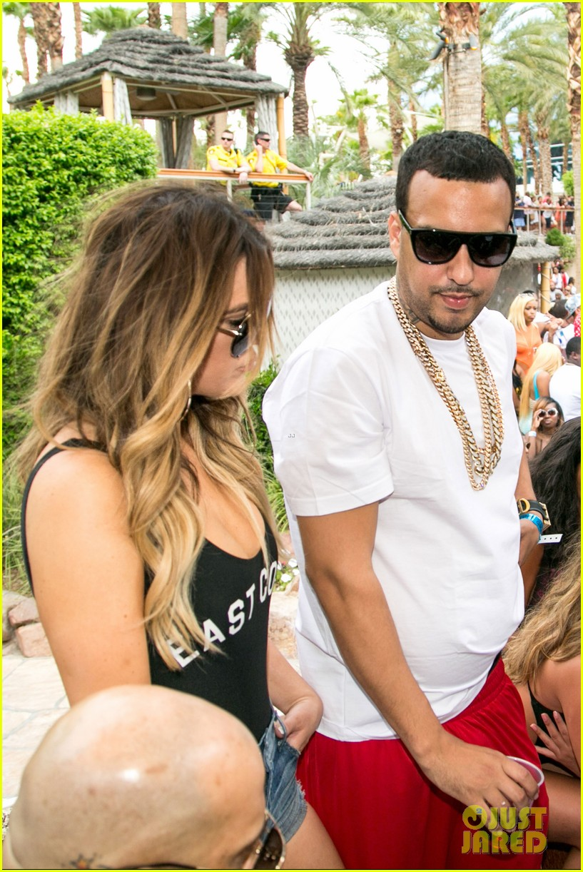 khloe kardashian parties with french montana in las vegas 033105733