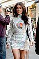 kim kardashian changes into sexy short dress 14