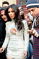 kim kardashian changes into sexy short dress 22