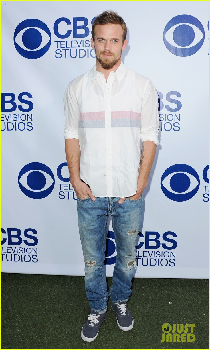 katharine mcphee cam gigandet celebrate new cbs shows 013118201
