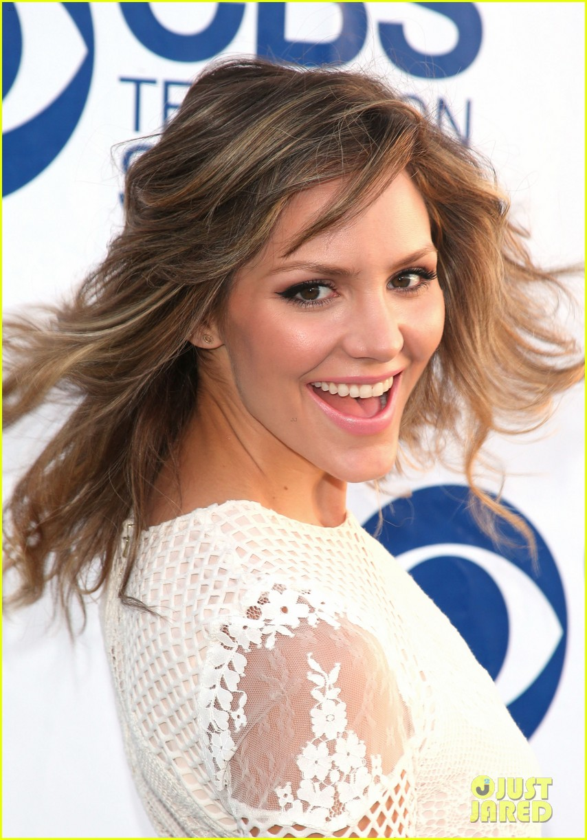 katharine mcphee cam gigandet celebrate new cbs shows 043118204