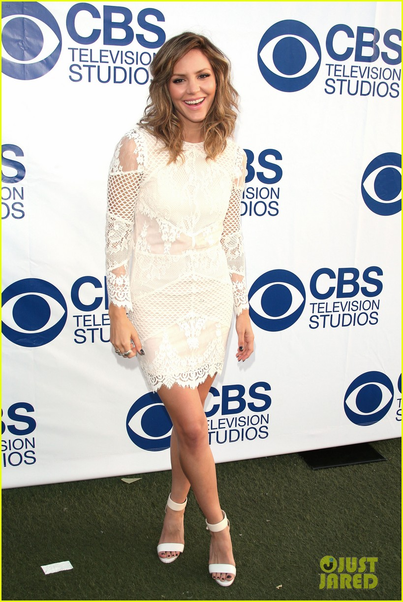 katharine mcphee cam gigandet celebrate new cbs shows 053118205