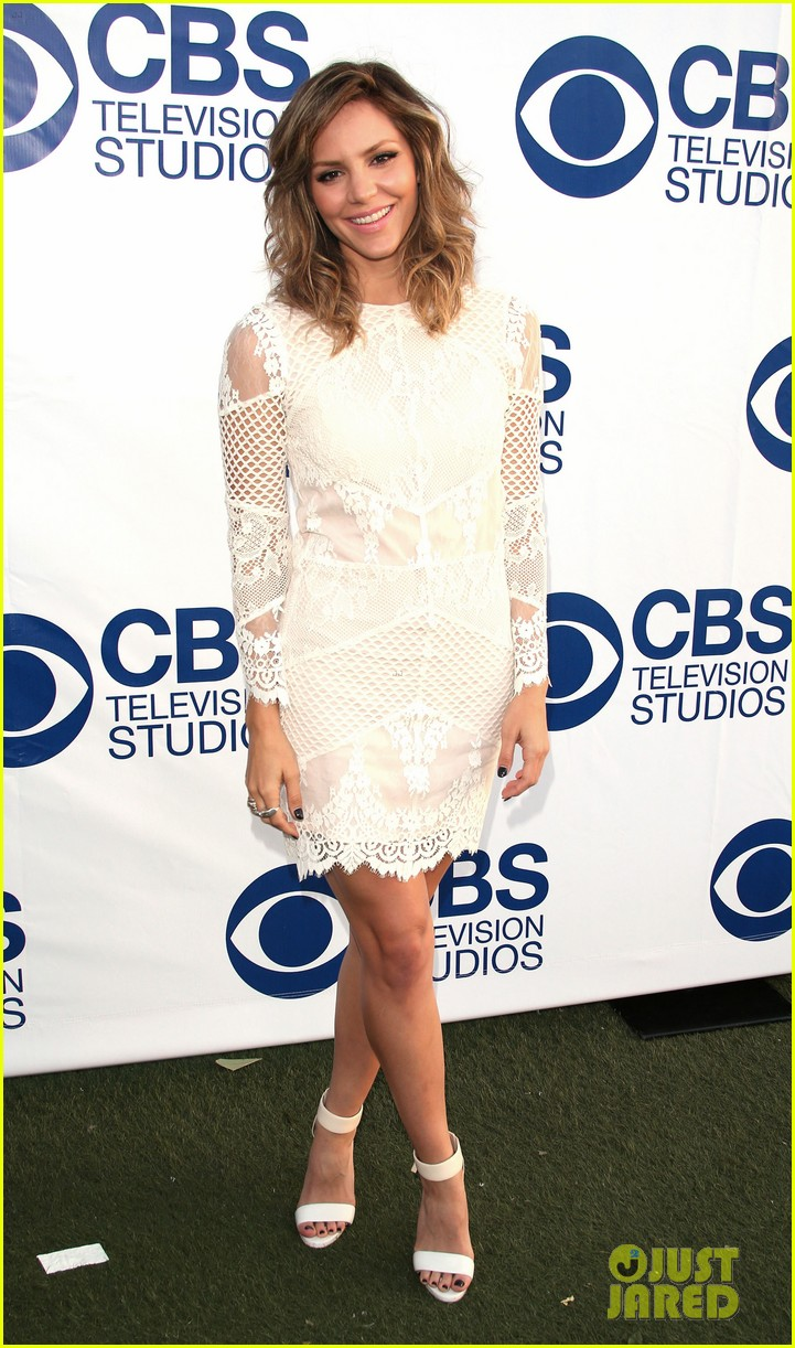 katharine mcphee cam gigandet celebrate new cbs shows 093118209