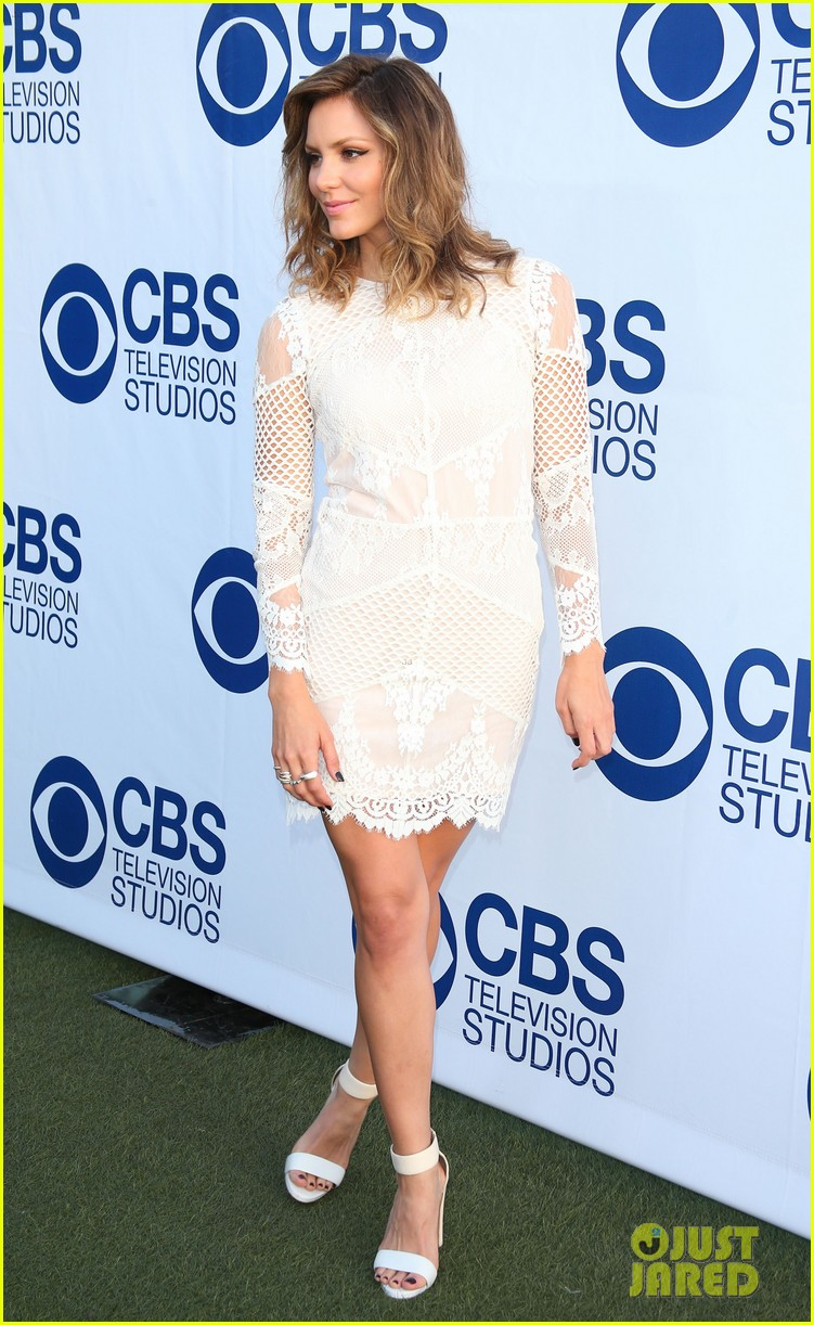 katharine mcphee cam gigandet celebrate new cbs shows 113118211
