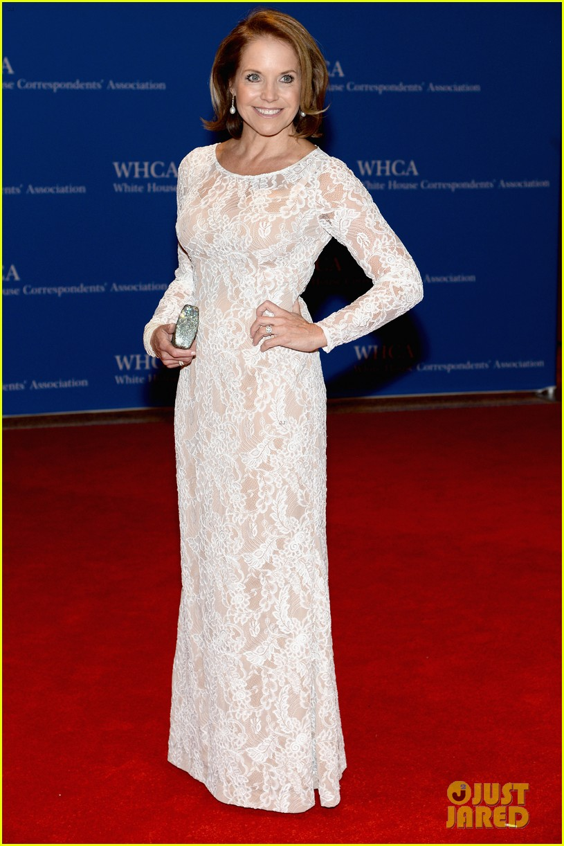 katie couric diane sawyer report white house correspondents dinner 01