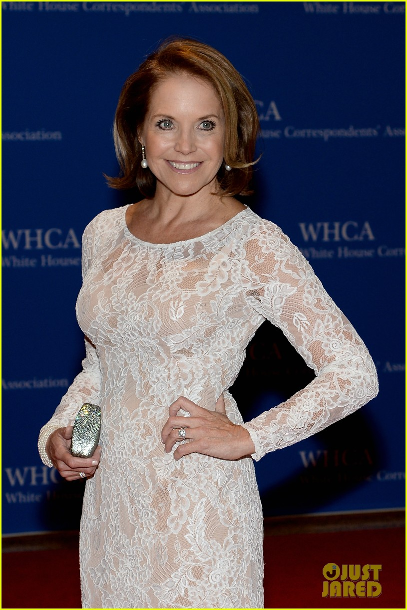 katie couric diane sawyer report white house correspondents dinner 093104890