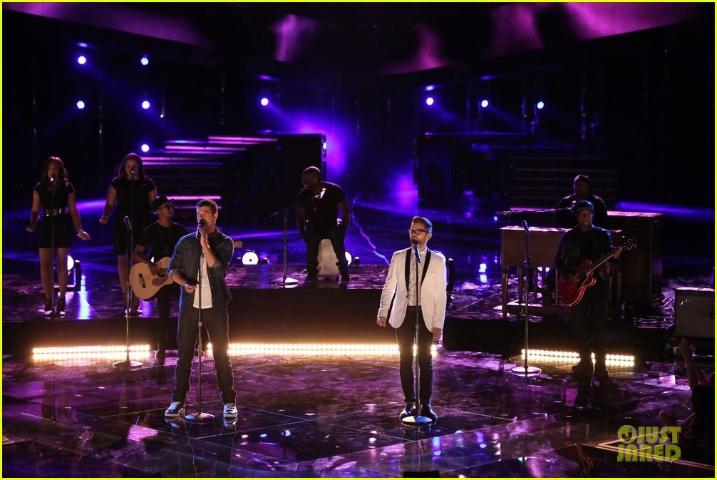 josh kaufman robin thicke the voice finale 033118534