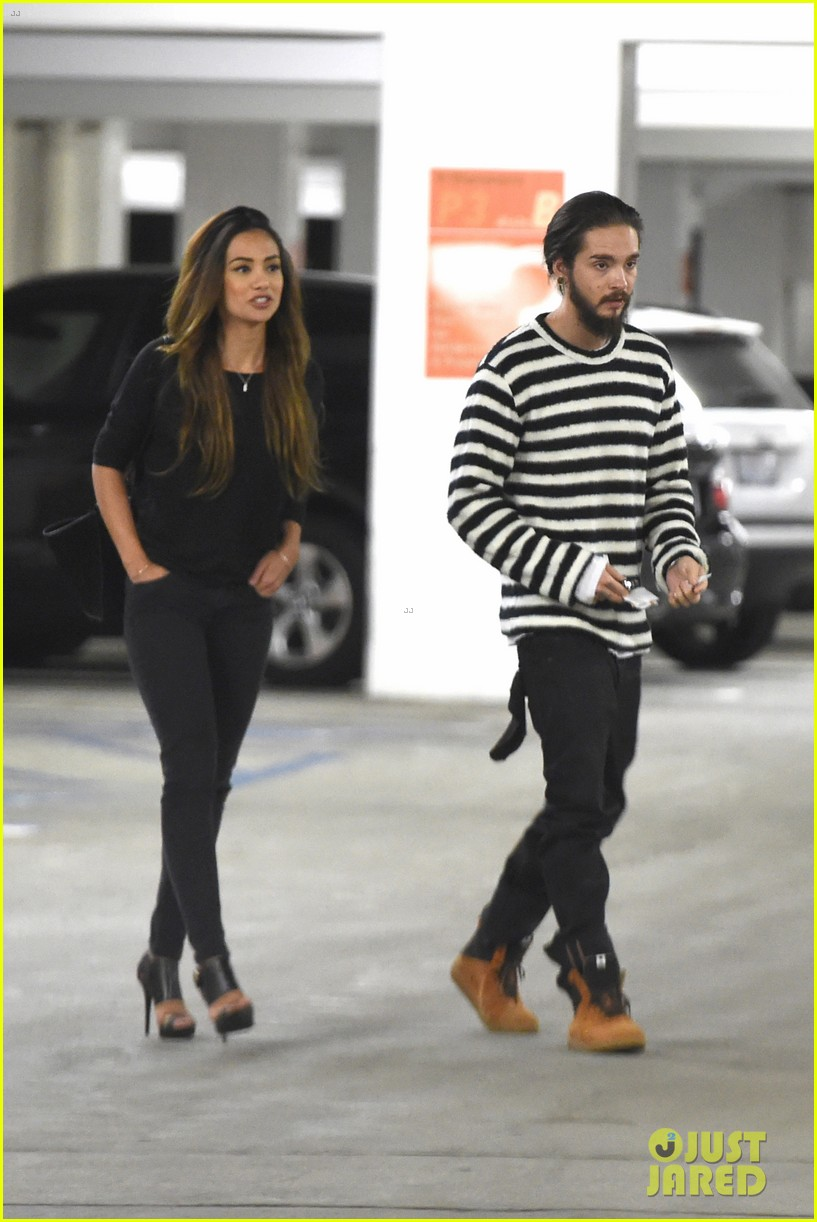 tom kaulitz movie date night with girlfriend ria sommerfeld 083118636