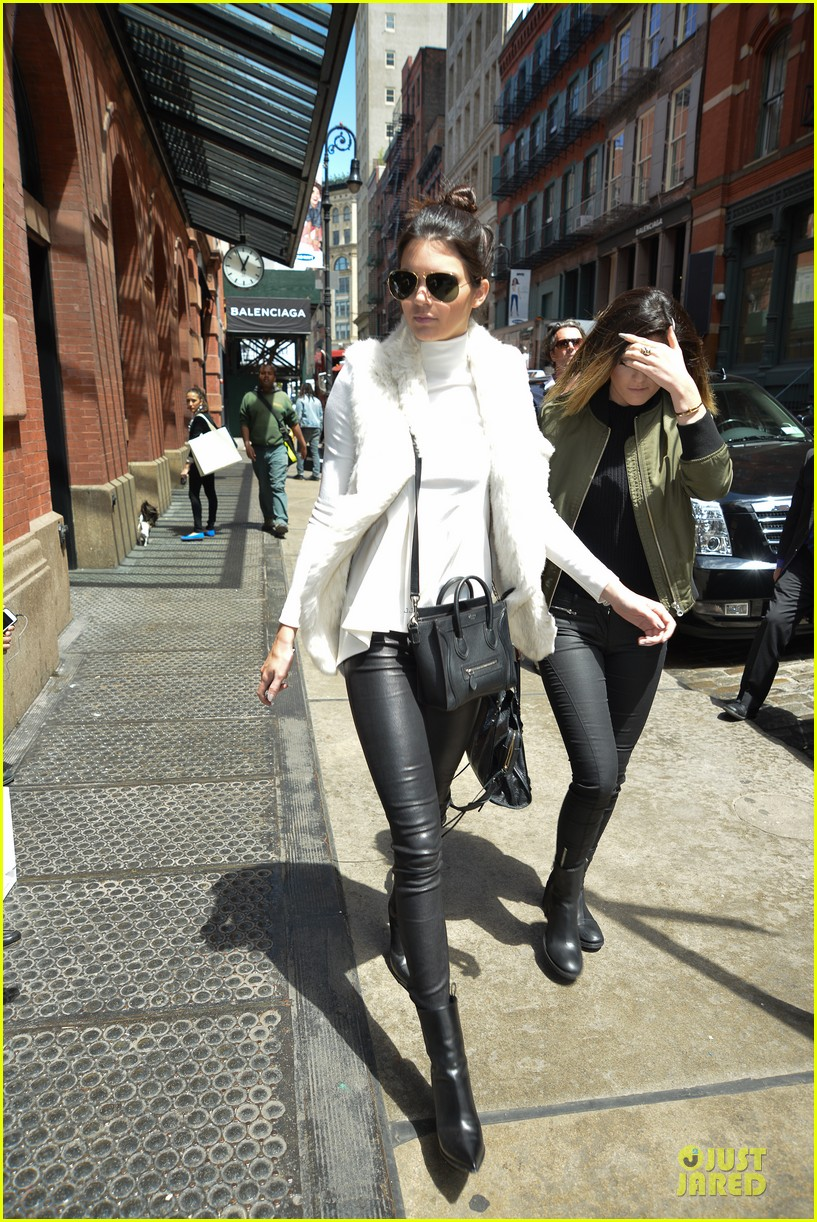 kendall kylie jenner boots in soho 103107514