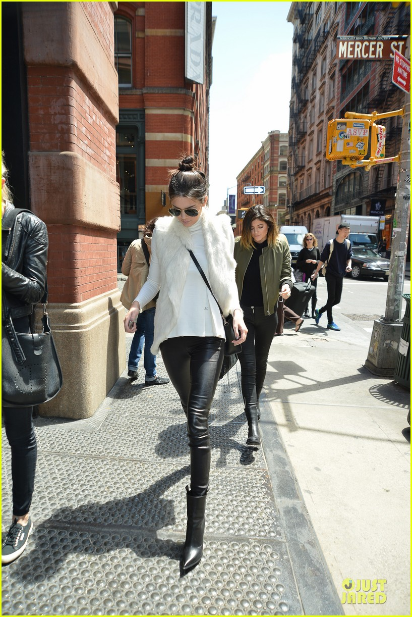 kendall kylie jenner boots in soho 11