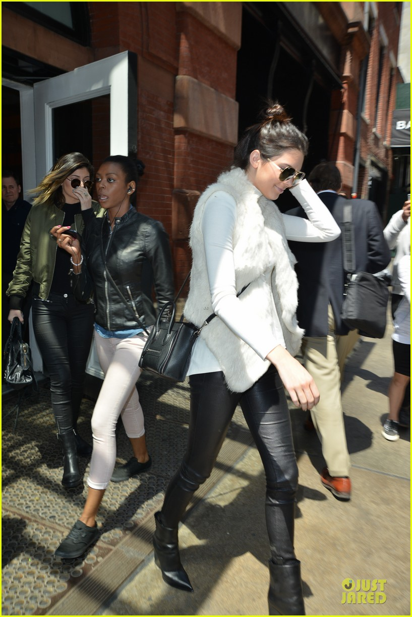 kendall kylie jenner boots in soho 143107518