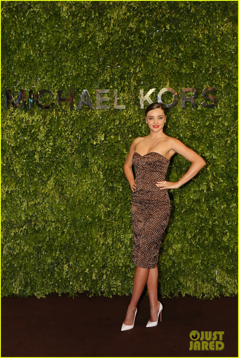 miranda kerr travels to china for michael kors store opening 083108806