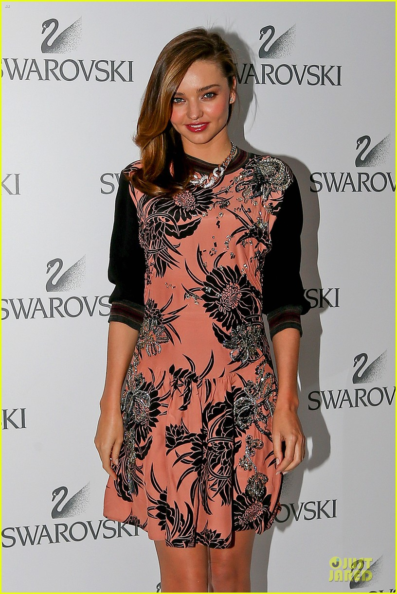 miranda kerr floral affair for swarovski 023112868
