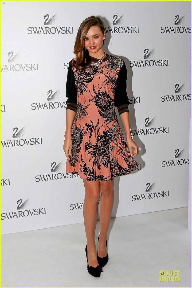 miranda kerr floral affair for swarovski 063112872