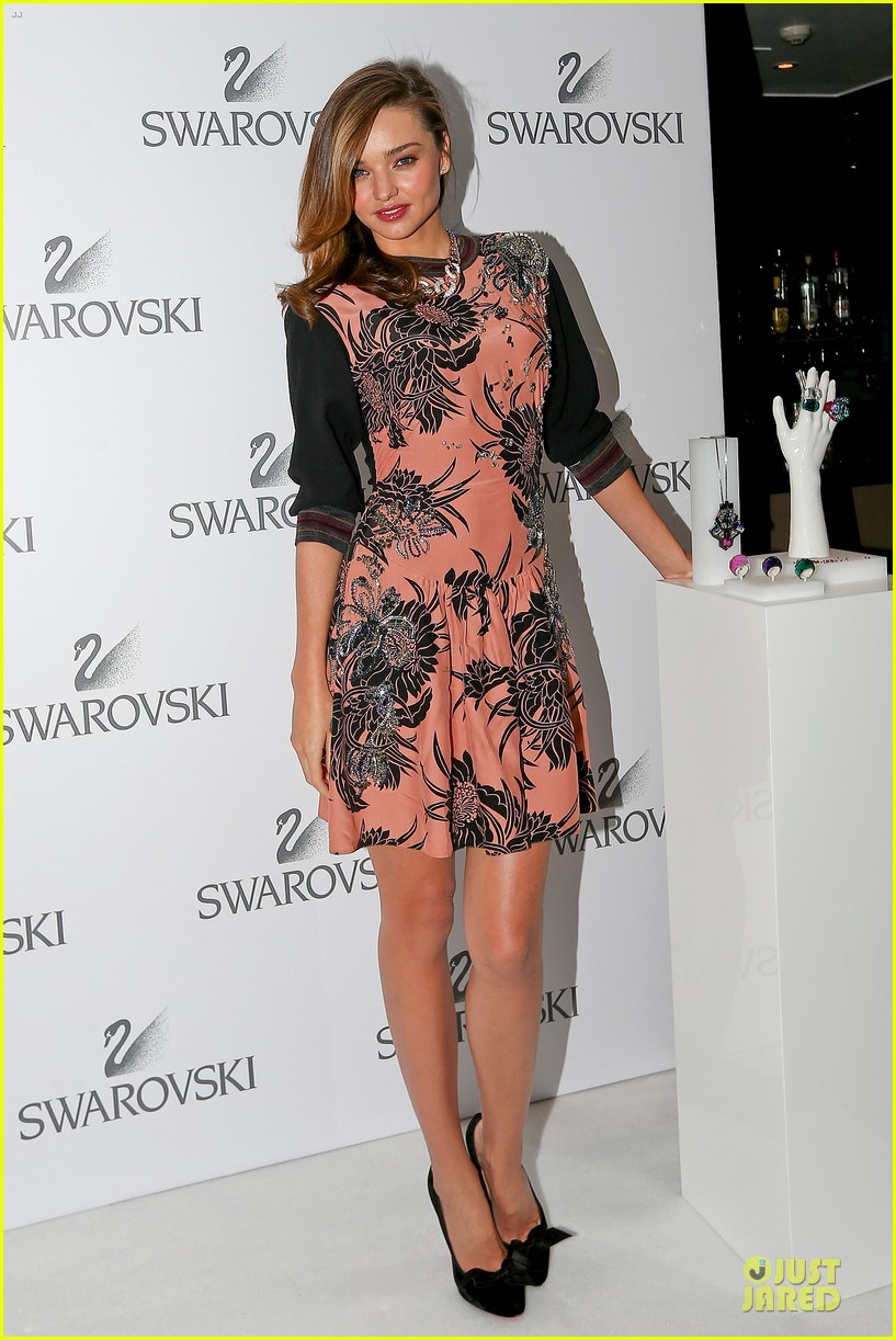 miranda kerr floral affair for swarovski 123112878