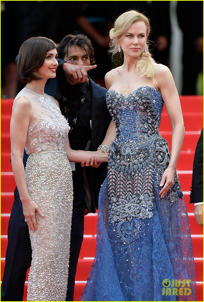 nicole kidman wears gorgeous intricately beaded gown for grace of monaco cannes premiere 013113192